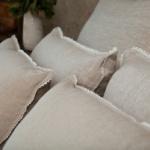 Подушка «Дивный Лен». Ткань 100% лен, наполнитель высококачественное бамбуковое волокно. Nature's (Натурес), Россия
