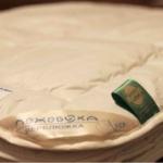 Верблюжка Теплое. Шерстяное теплое стеганое одеяло 100 верблюжья шерсть. ТМ Лежебока, Россия