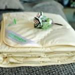 Легкое стеганое одеяло Лен Хлопок. ТМ «Лежебока», Россия