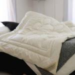 Верблюжка. Детское всесезонное стеганое одеяло. 100 верблюжья шерсть. Лежебока Россия