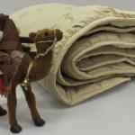 Кораблик Пустыни детское всесезонное одеяло из верблюжьего пуха Extra Wool Nature's (Натурес), Россия