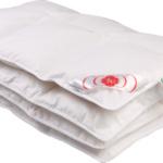 Детское пуховое одеяло «Белый гусенок». Детское одеяло элитный белый гусиный пух . «Серафимовская Пушинка»;