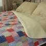 Одеяло Меринос ЛоконХлопок Пэчворк. Шерстяное тканое одеяло. 100% открытая шерсть мериноса. ТМ Magicwool (Монарх), Россия