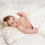 «Baby Batterfly» шелковая детская подушка. 100% NATURAL SILK высшего класса Mulberry. ТМ German Grass (Герман Грасс), Австрия