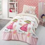 NICE DAY (Розовый). Комплект детского постельного белья сатин – 100% хлопок. Детское постельное белье сатин 100% хлопок. Постельное белье детское ALTI