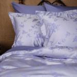 Постельное белье «Lavender Palette Grass». Ткань сатин. Состав 40% хлопок, 60% TENCEL (тенсель)®. Производство ТМ «German Grass» («Герман Грасс»), Австрия