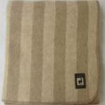 Одеяло из шерсти альпаки и мериноса «OA-1» 195×215см. Теплое шерстяное тканое одеяло. 46% альпака 39% меринос 15% хлопок. Производитель: ТМ «Incalpaca» («Инальпака»), Перу