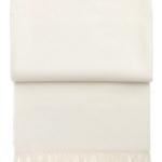 Шерстяной плед с кистями «6004 LUXURY off-white» 130х200см. Плед 100% шерсть беби альпака. Производитель: ТМ «Elvang», Дания