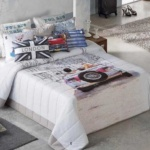 Покрывало 2-спальное «ANTILO .Alvin». 100% полиэстер. Производство «Antilo», Испания