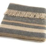 Шерстяной плед с кистями «Incalpaca PP-56″ 170х210см. Плед 55% шерсть альпака, 45% шерсть мериноса. Производитель: ТМ «Incalpaca» («Инальпака»), Перу