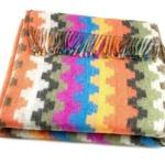 Шерстяной плед с кистями «Incalpaca PP-61″ 170х210см. Плед 55% шерсть альпака, 45% шерсть мериноса. Производитель: ТМ «Incalpaca» («Инальпака»), Перу