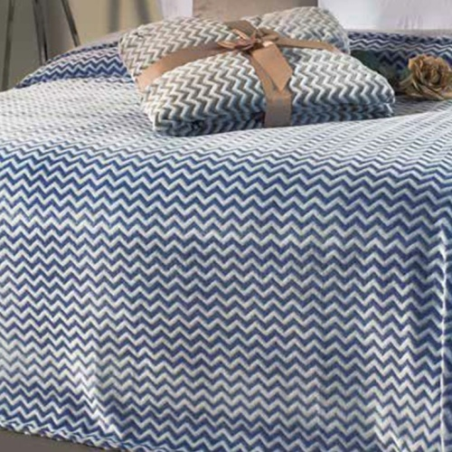 Плед-покрывало «LEIPER Namibe azul» 220х240см. Состав: 100% полиэстер. Производство: ТМ «LEIPER», Португалия
