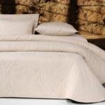 Покрывало 2-спальное жаккардовое «ANTONIO SALGADO Alize» (молочный). Покрывало без наволочек 220х270см. Состав: 80% хлопок, 20% полиэстер. Производство ТМ «ANTONIO SALGADO», Португалия (поставщик «Европейский Текстиль»)