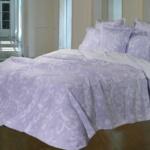 Покрывало 1.5-спальное жаккардовое «ANTONIO SALGADO Royal garden 23 lila». Покрывало без наволочек 180х270см. Состав: 80% хлопок, 20% полиэстер. Производство ТМ «ANTONIO SALGADO», Португалия (поставщик «Европейский Текстиль»)