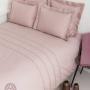 Постельное белье перкаль «АКЦЕНТ» (пудрово- розовый). 100% хлопок. «Luxberry» («Люксберри»), Португалия