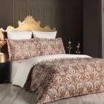 ROYAL. Постельное белье Сатин, Хлопок. Комплект постельного белья сатин -100 хлопок. Постельное белье Karna (Карна), Турция