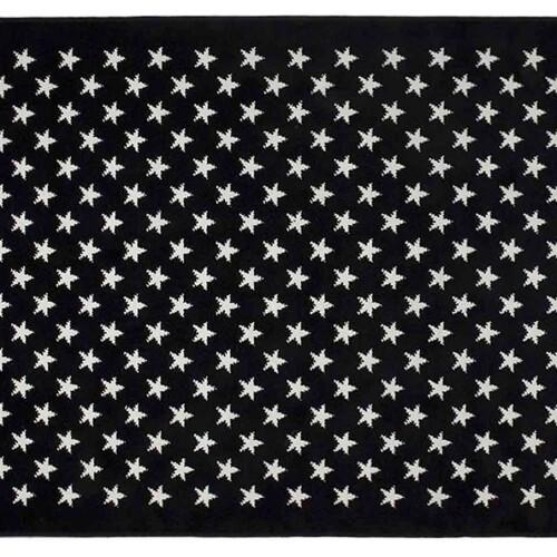 Звезды Stars Navy (синий). Детский акриловый ковер. Состав 100 акрил. Производство ТМ «Lorena Canals» , Испания