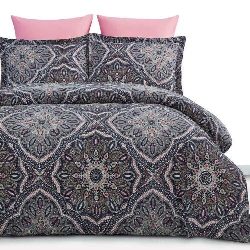 Lami Постельное белье «Arya Alamode» сатин печатный. Ткань сатин. Состав 100% хлопок. Производство ТМ «ARYA Home» («Ария Хоум»), Турция