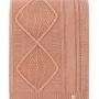Плед вязаный LUX 60 (египетская глина) 100 хлопок. Производство Luxberry (Люксберри), Португалия