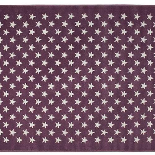 Звезды Stars Purple (фиолетовый). Детский акриловый ковер. Состав 100 акрил. Производство ТМ «Lorena Canals» , Испания