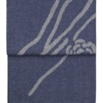 6123 WILDFLOWER dark bluebeige плед 100 шерсть беби альпака. «Elvang», Дания