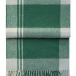 7143 CITYSCAPE emerald. Плед шерсть50% альпака, 40% овечья шерсть. ТМ Elvang, Дания