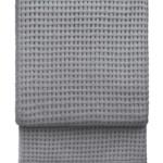 7401 BASKET light grey. Плед шерсть альпака, овечья шерсть. ТМ Elvang, Дания