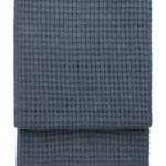 7402 BASKET orion blue. Плед шерсть альпака, овечья шерсть. ТМ Elvang, Дания