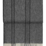 7601 RIVER light greygrey. Плед шерсть альпака, овечья шерсть. ТМ Elvang, Дания