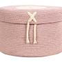 Корзина Коробка Конфет винтажный нюдовый-1 Хлопковая декоративная корзина 100 хлопок. Lorena Canals , Испания