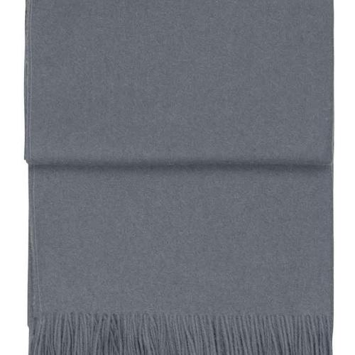 7085 Classic grey blue. Плед шерсть альпака, овечья шерсть. ТМ Elvang, Дания