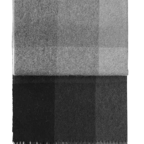 7109 INCA stones throw Grey. Плед шерсть50% альпака, 40% овечья шерсть. ТМ Elvang, Дания