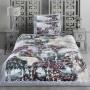 FENZA. Постельное белье Сатин, Хлопок. Комплект постельного белья сатин -100 хлопок. Постельное белье Karna (Карна), Турция-2