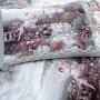FENZA. Постельное белье Сатин, Хлопок. Комплект постельного белья сатин -100 хлопок. Постельное белье Karna (Карна), Турция