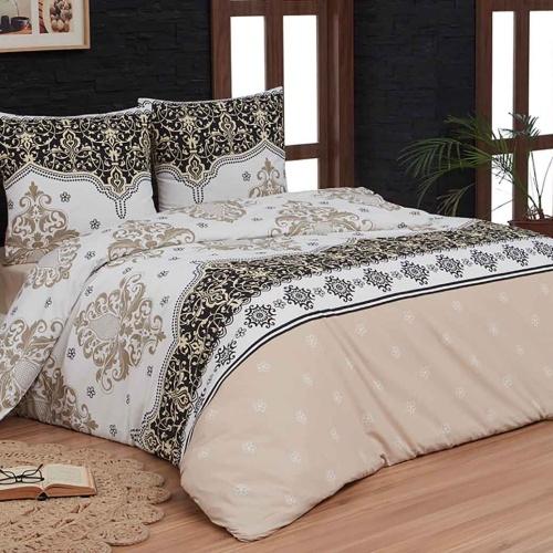 KOVEN Постельное белье Бязь, Хлопок. Комплект постельного белья сатин -100 хлопок. Постельное белье Karna (Карна), Турция
