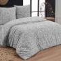 ROSINA серый Постельное белье Бязь, Хлопок. Комплект постельного белья сатин -100 хлопок. Постельное белье Karna (Карна), Турция