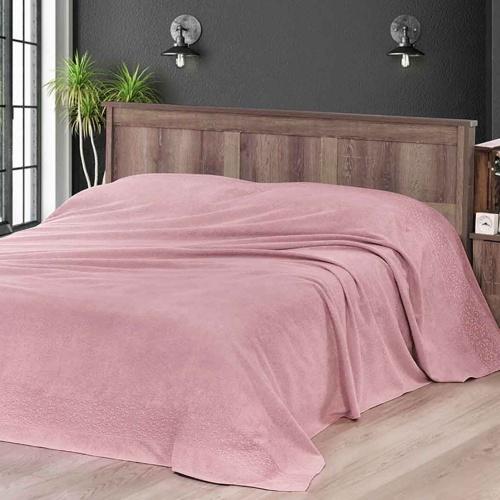 MELEN (Грязно-розовый) Простынь махровая. Состав 100% хлопок. Ткань махра. Производство ТМ «Karna» («Карна»). Турция