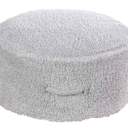 Пуф Прохлада жемчужно-серый