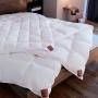 Carat Легкое кассетное пуховок одеяло. 100 белый гусиный пухТМ Brinkhaus (БринкХаус), Германия