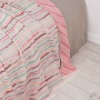BALI розовыйбирюзовыйбордо Покрывало 100% хлопок. Производство Luxberry (Люксберри), Португалия