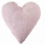 Heart розовая. Подушка детская декоративная. 100 хлопок. Lorena Canals, Испания