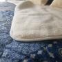 Одеяло Меринос ЛоконХлопок Гжель. Шерстяное тканое одеяло. 100% открытая шерсть мериноса. ТМ Magicwool (Монарх), Россия