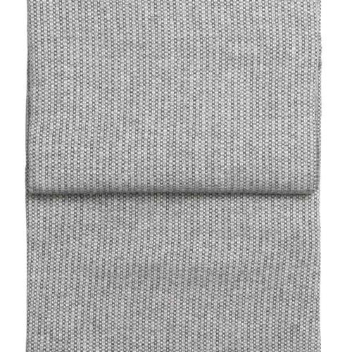 7472 Bricks whitelight greygrey. Плед шерсть альпака, овечья шерсть. ТМ Elvang, Дания