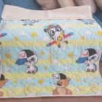 «Малыши-Мальчики ЛоконХлопок Зоопарк» 100×140см. Детское теплое шерстяное тканое одеяло. 100% открытая шерсть мериноса. Ткань 100% хлопок-перкаль. Производитель ТМ «Magicwool», Россия