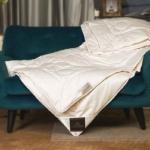 Trois Couronnes Mao. Всесезонное стеганое шелковое одеяло. 100 натуральный шелк. Швейцария