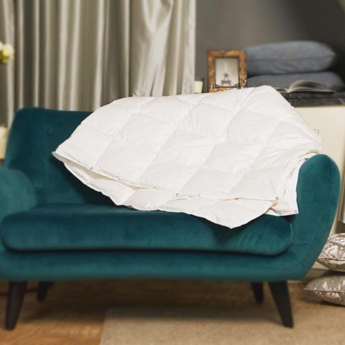 Trois Couronnes Princess light. Легкое пуховое кассетное одеяло. 90 белый пух, 10 перо. Trois Couronnes, Швейцария