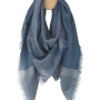 4152 Milan blue Платок Шерсть альпака, шелк. Elvang (Элванг), Дания