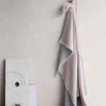 6152 VENICE white nude. Плед шерсть альпака, овечья шерсть. ТМ Elvang, Дания