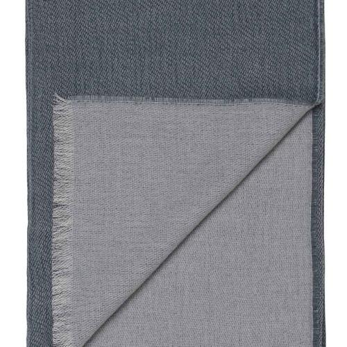 6153 VENICE whitegrey blue. Плед шерсть альпака, овечья шерсть. ТМ Elvang, Дания