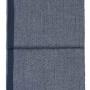6172 Herringbone dark bluegrey. Плед 100 шерсть беби альпака. ТМ Elvang, Дания